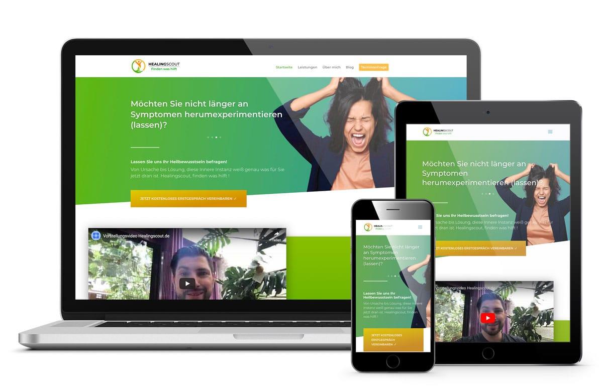 Healingscout Heiko Gerber, Webdesign und Onlinemarketing